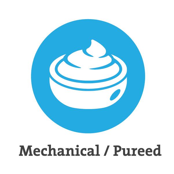 Mechanical Pureed Icon