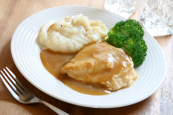 Chicken Breast and Mashed Potatoes