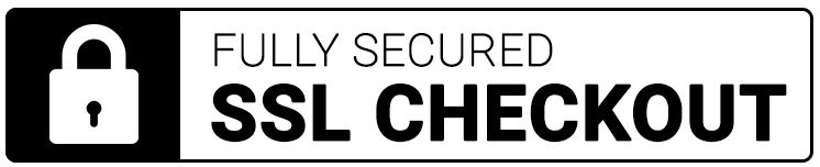 Fully secured SSL checkout badge